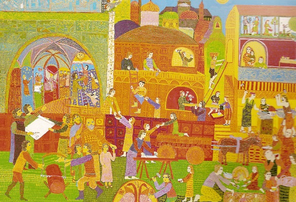 Building the City -- John August Swanson