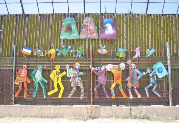 Mural on the Theme of Migration