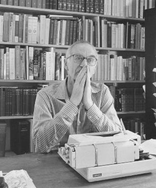 James Hillman, Photo courtesy of Ginette Paris