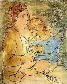 Mother and Child -- Pablo Picasso